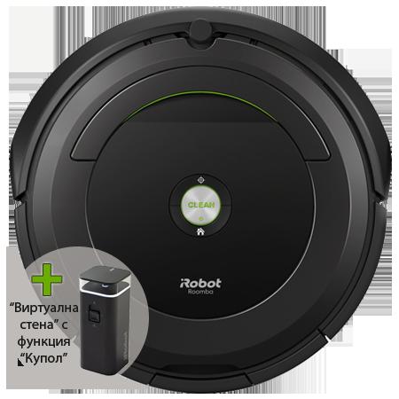 Прахосмукачка робот iRobot Roomba 681-тестова мостра на промоционална цена от 689,00лв.