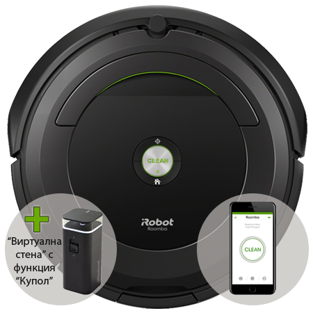 Прахосмукачка робот iRobot Roomba 696 на промоционална цена от 849,00лв.