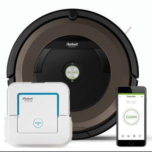 Супер промоция! iRobot Roomba 896+iRobot Braava 240 Jet