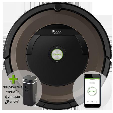 Прахосмукачка робот iRobot Roomba 896- витринна мостра на промоционална цена от 1149,00лв.