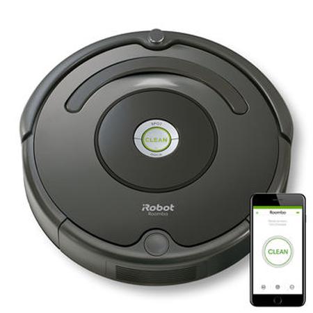 Прахосмукачка робот iRobot Roomba 676 на промоционална цена от 597,00лв.