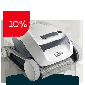 Робот за басейни Dolphin E10 на промоционална цена от 2079,00лв.