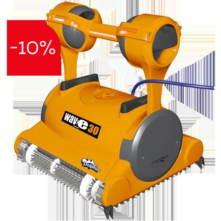 Професионален робот за басейни Dolphin Wave 30 на промоционална цена от 5175,00лв.