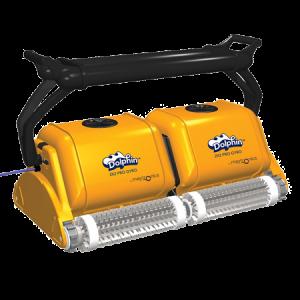 Професионален робот за басейни Dolphin 2×2 Pro Gyro