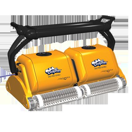 Професионален робот за басейни Dolphin 2×2 Pro Gyro на цена от 17950,00лв.