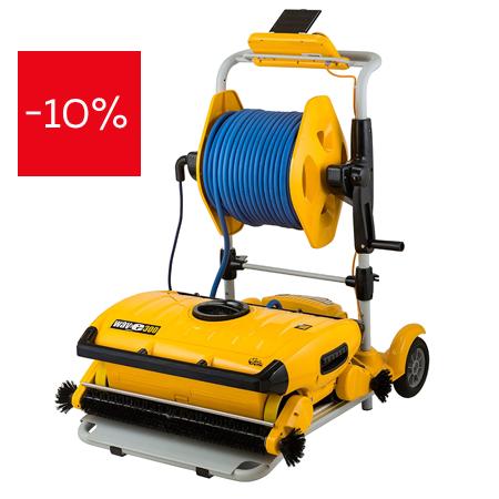 Професионален робот за басейни Dolphin Wave 300XL на промоционална цена от 30825,00лв.