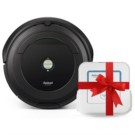 Супер промоция! iRobot Roomba 696+ iRobot Braava 240 Jet на промоционална цена от 999,00лв.