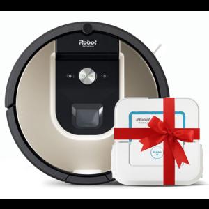 Супер промоция! iRobot Roomba 966+iRobot Braava 240 Jet