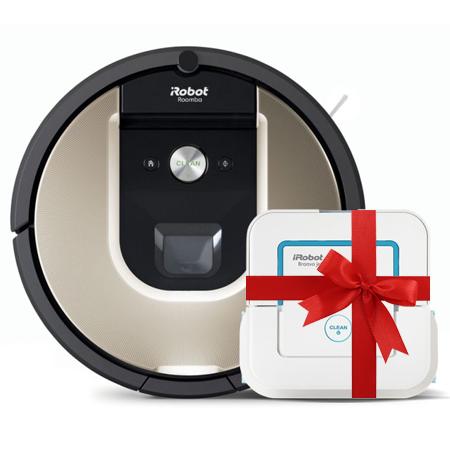 Супер промоция! iRobot Roomba 966+iRobot Braava 240 Jet на промоционална цена от 1649,00лв.