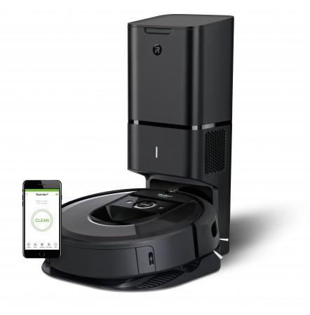 Прахосмукачка робот iRobot Roomba i7+ на цена от 2449,00лв.