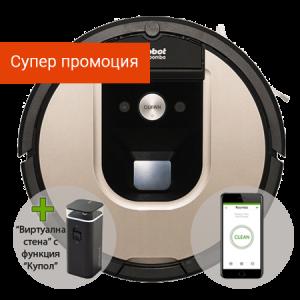Прахосмукачка робот iRobot Roomba 966