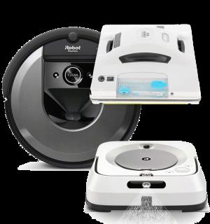 Промо пакет Roomba i7, Braava Jet M6, Hobot 298