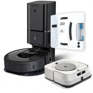 Промо пакет Roomba i7+, Braava Jet M6, Hobot 298