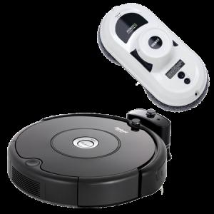 Промо пакет iRobot Roomba 606, Hobot 188