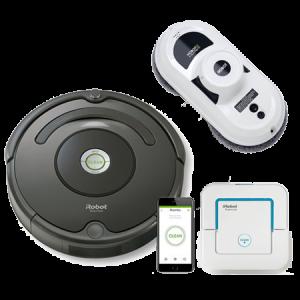 Промо пакет iRobot Roomba 676, Hobot 188, Braava 240 Jet