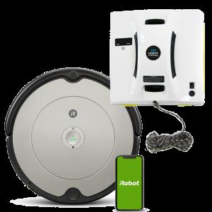 Промо пакет iRobot Roomba 698, Hobot 268