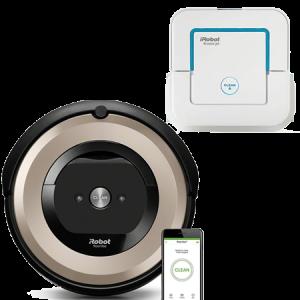 Промо пакет iRobot Roomba E6, iRobot Braava 240 Jet