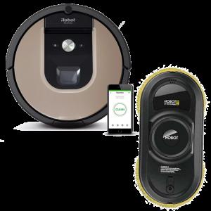 Промо пакет iRobot Roomba 976, Hobot 198