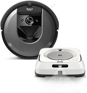 Промо пакет iRobot Roomba i7, iRobot Braava Jet M6