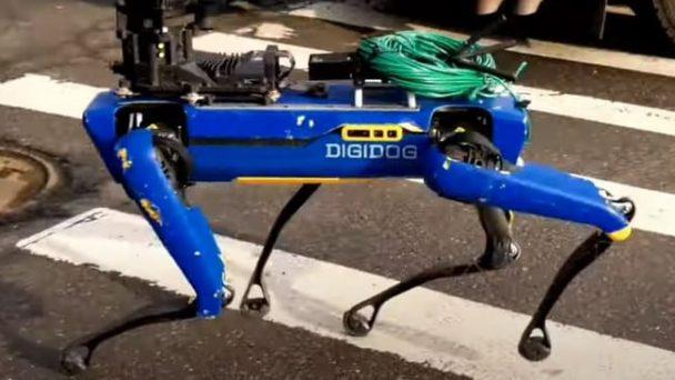 Digidog роботизираното куче на американската полиция